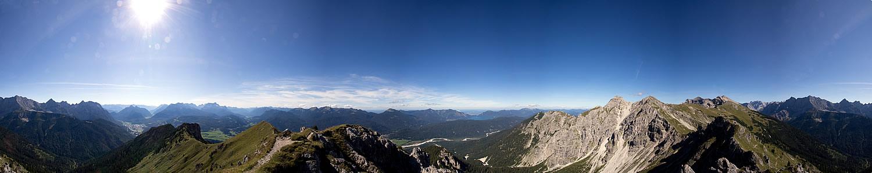 Panorama vom Signalkopf